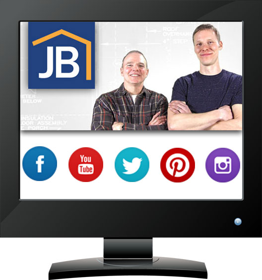JB Home Improvers has a new website. Remodeler from Monticello Minnesota